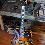 yohann koch luthier y koch guitares acoustique guitar herault beziers narbonne guitare électrique electric demie caisse byrdland 1959 vintage es hollow body borio jazz