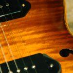 parlor hollow body guitar guitare demie caisse leone y yohann koch luthier